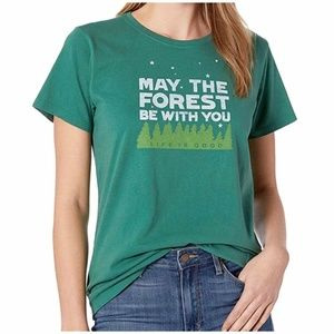 3XL May the Forest Be With You Life Is Good Shirt